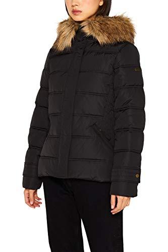 ESPRIT Damen 099Ee1G003 Jacke, 001/BLACK, XL