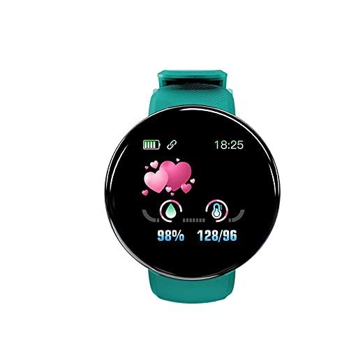 """Daodan Smartwatch Orologio Impermeabile Intelligente 1.44"""" Nuovo,Activity Tracker Cardiofrequenzimetro Monitoraggio del Sonno Gestione dello Stress iOS e Android,uomo,donna,Unisex (Verde)"""