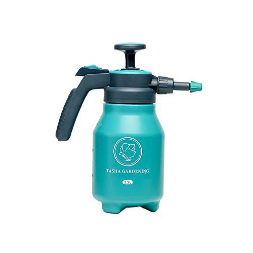 HUDEMR Poder de Aerosol 1.5/2 Litro Botella de presión pulverizador de acción de Bombeo Ajustable Boquilla Uso con Agua (3pack) Planta de Agua en Spray (Color : Blue, Size : 1.5L)
