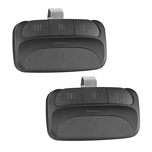 Garage Door Opener Remote, for Orange and Yellow Learn Button Compatible with Chamberlain LiftMaster Craftsman (Orange and Yellow) 2-Pack