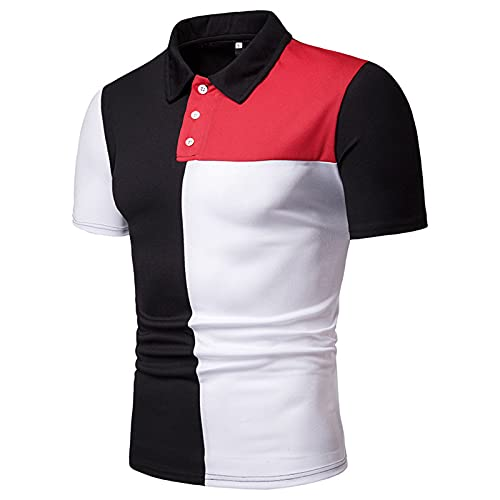 SSBZYES Verano Camiseta De Manga Corta para Hombre Camiseta para Hombre Camiseta Polo para Hombre Camiseta Casual Color a Juego Código Europeo Suelto Camiseta De Manga Corta Camiseta De Fondo