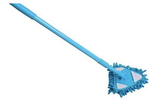 XU TAO Mini Mop Badezimmer Boden Reinigungswerkzeug Flache Faule Mopp Wand Haushaltsreinigungsbürste Chenille Mop Waschen Mopp Staubbürste Reinigung (Color : Blue)