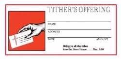 Offering Envelope Low price Popular popular - Tithers 2C