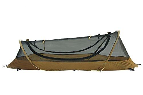 CATOMA Unisex-Erwachsene Adventure Shelters Bettnetz Zelt, Coyote Brown, One Size