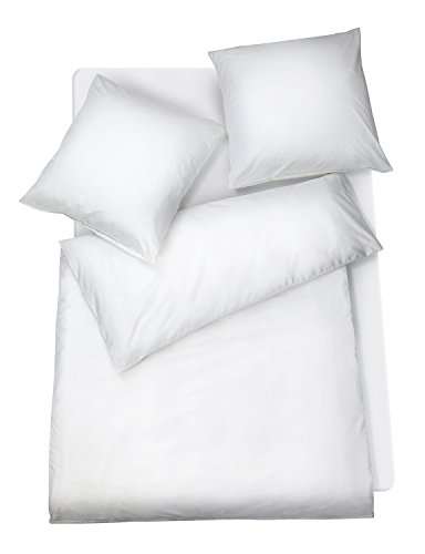 Carpe Sonno Mako-Satin Bettwäsche - Made in Germany! Uni Bettbezug für Paare...