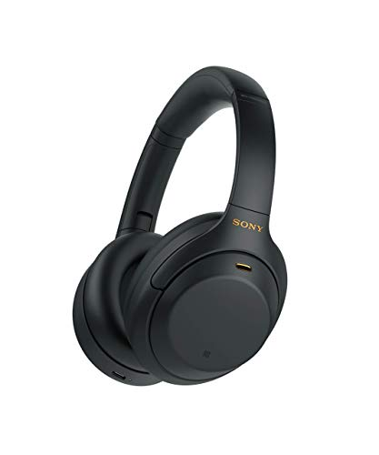 Sony WH-1000XM4 Wireless Noise-Cancelling Over-The-Ear Headphones - Black (Renewed)