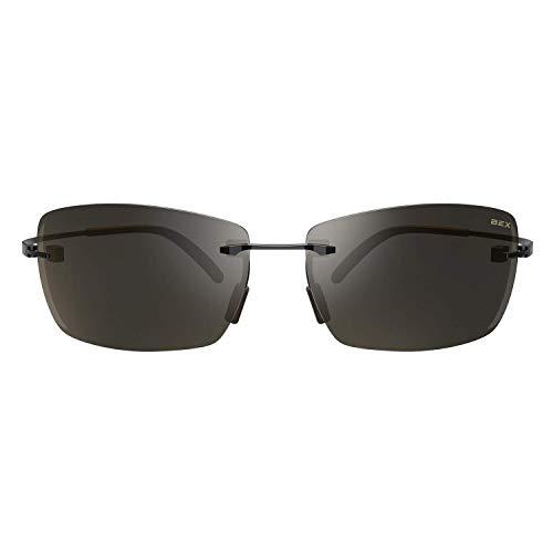 BEX Fynnland XL Polarized Black/Brown Sunglasses
