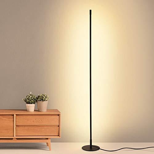 JICJANFENG lámpara de Pared Decoración nórdica hogar de la lámpara de Suelo LED de atenuación de pie Lámparas de pie decoración del Dormitorio de la lámpara Franja Vertical Aplique de la Pared