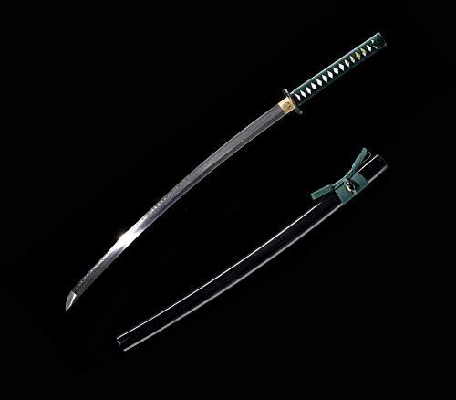 xinan2018 Japanese 1060 T10 1045 1090 Samurai Katana Real Battle Ready Hand Forged Damascus Carbon Steel Heat Tempered Full Tang