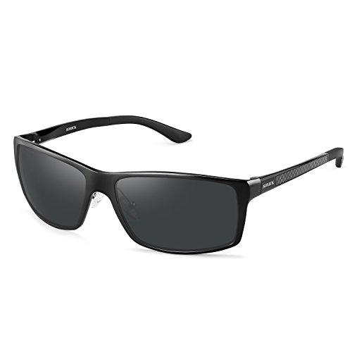 Soxick UV400 Polarized Sunglasses for Men Wayfarer Men's Driving Sunglasses