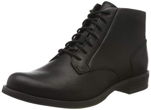Timberland Women's Ankle Boots, Black Black Full Grain, 37.5 EU