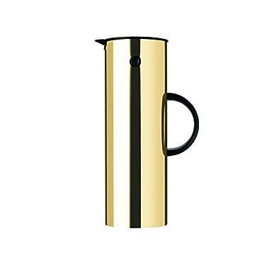 Stelton Vacuum Jug 1l Brass