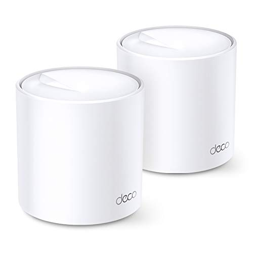 TP-Link Deco WiFi 6 Mesh WiFi System(Deco X20) - Covers up to 4000 Sq.Ft, Replaces Wireless Internet Routers and Extenders, 2-Pack