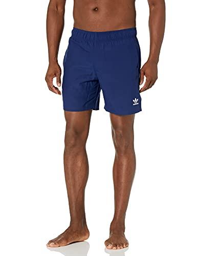 Adidas Originals - Costume da bagno da uomo Trefoil Essentials - blu - X-Large