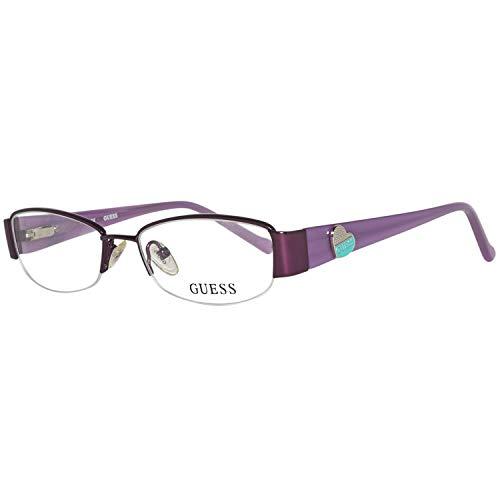 Guess Brille Gu9074 O24 47 Montature, Viola (Violetta), 47.0 Unisex-Bambini