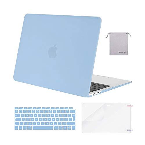 MOSISO Funda Dura Compatible con 2020 2019 2018 MacBook Air 13 A2337...
