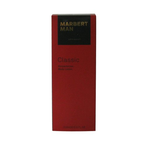 Marbert Man homme/men, Classic Body Lotion, 1er Pack (1 x 200 ml)