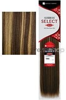 Goddess Select Remi Human Hair Yaki Weaving14Inch - S4/27