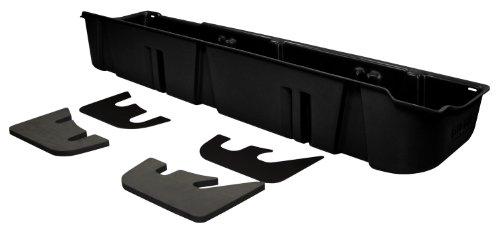 DU-HA Under Seat Storage Fits 09-14 Ford F-150 SuperCrew with Subwoofer, Black, Part #20078