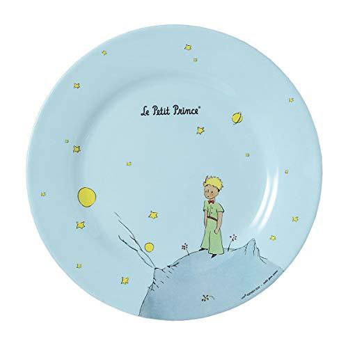 Petit Jour Paris PP956P – Plato de El Principito 23 cm – Perfecto para tartas pequeñas. Azul