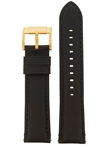 Original Uhrenarmband LB-FS4835 22mm Leder Blau Uhrband für Fossil FS-4835