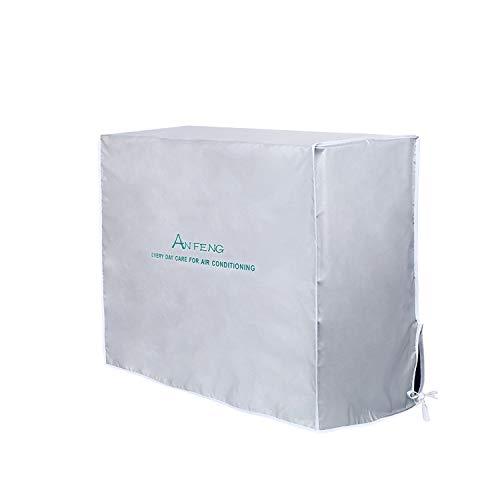 HOMEWINS - Cubierta Exterior de Aire Acondicionado Antipolvo antiniebla Impermeable Funda climatizadora Exterior (92 * 35 * 69cm)