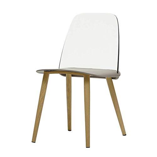 CENPEN Home Modern Accent Vanity - Silla de comedor con patas de metal para salas de estar, dormitorios, apartamento, fácil de combinar (color, tamaño: 40 x 50 x 79 cm)