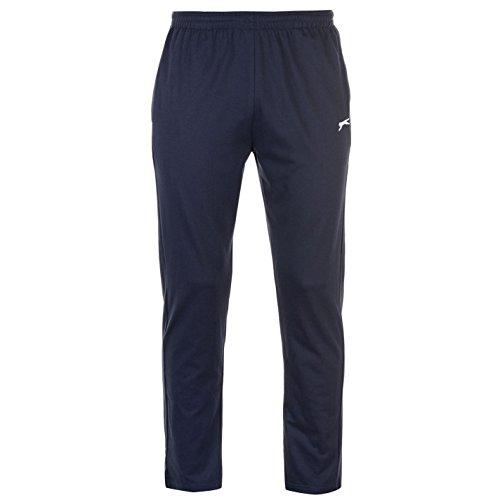 Slazenger Jersey Herren Jogginghose Trainingshose Sporthose Freizeit Hose Blau Extra Lge