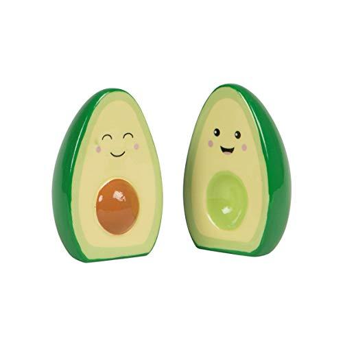 Happy Avocado Salz- und Pfefferstreuer