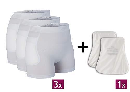 Suprima Set 4 - Hüftprotektor-Slip, 3 x 1-4900 und 1 x 2008 - Gr. L