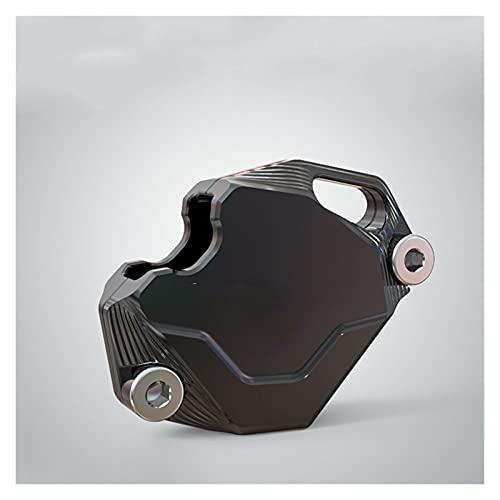 Funda de Caja de Llave de Motocicleta Funda para Llave De Motocicleta, Accesorios para Scooter, Protector De Llave De Motocicleta De Aluminio CNC para S-UZUKI Ya-maha (Color : Black)