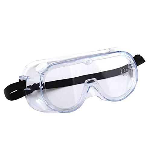 Veiligheidsbril Over Bril Winddicht Anti-speeksel Stofdicht Beschermende bril Brilbeschermer voor buiten fietsen in het ziekenhuis