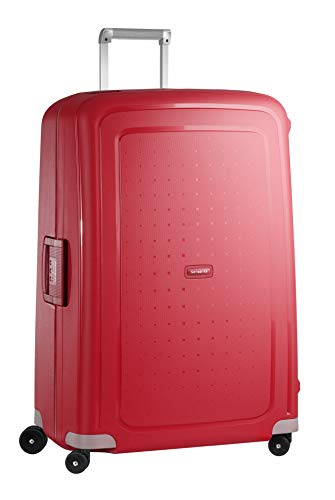 Samsonite S'Cure Spinner XL Valigia, 81 cm, 138 L, Rosso (Crimson Red)