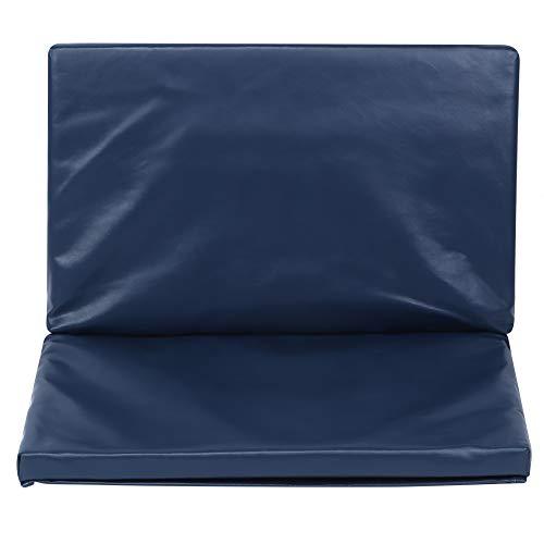 Deror Almohadilla para Pedal de Silla de Ruedas, Pedal de Silla de Ruedas para discapacitados Reposapiés Almohadilla elevadora Accesorio Protector de cojín para piernas(16 * 20 * 1 Inch-Azul)