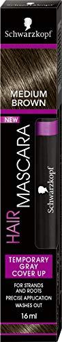 Schwarzkopf Hair Mascara Medium Brown 16ml