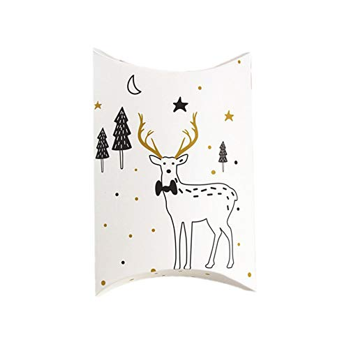 Kerstkist-kussen-vorm geschenkverpakking doos doos snoepjes-geschenkdoos voor partij