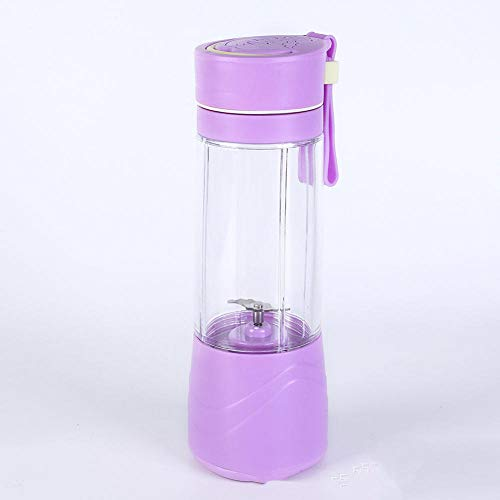 Personal Mini Blender,Electric juicer Mini Portable Juice Cup-Purple