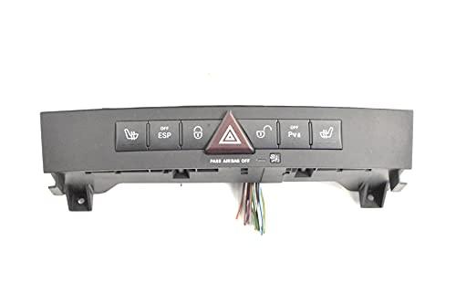 R171 SLK280 2008 RHD Panel de botón de interruptor de peligro A1718209210 12128384