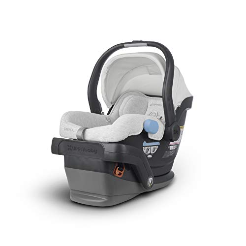 UPPAbaby MESA Infant Car Seat - Bryce (White & Grey Marl)
