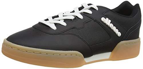 ellesse Piacentino 2.0, Zapatillas Hombre, Multicolor (Black/White/Gum Black/Wht/Gum), 41.5 EU