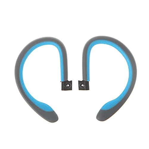 Runtodo 1 Par de Ganchos para la Oreja Reemplazo de Ganchos de la Oreja para Powerbeats2 PB2 Auriculares Internos InaláMbricos Azul