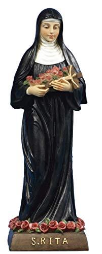 Estatua Santa Rita cm.20de resina by paben