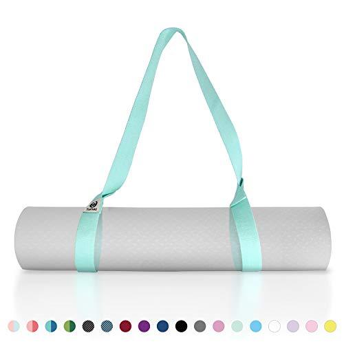 Total 3 Limeo Yoga Stretch Belt Yoga Belt Yoga Rope D-Ring Buckle Yoga Strap Yoga Strap Organic Cotton Yoga Stretching Belt Yoga Strap Adjustable Yoga Belt Fitness Training Strap