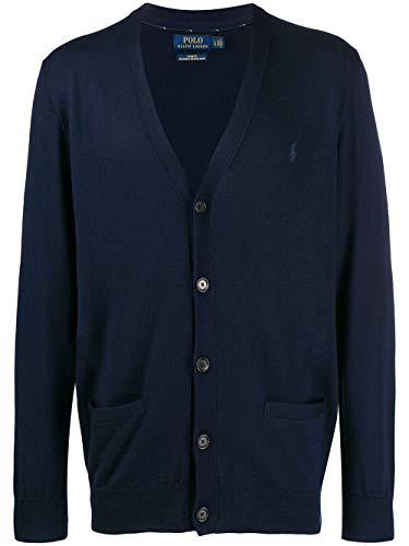 Luxury Fashion | Ralph Lauren Heren 710763372002 Donkerblauw Wol Vesten | Herfst-winter 19