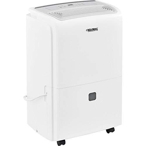 Affordable 70 Pint Portable Dehumidifier, Energy Efficient, 115V
