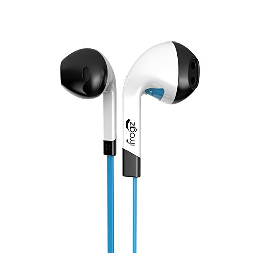 iFrogz Audio InTone Headphones with Microphone - Blue