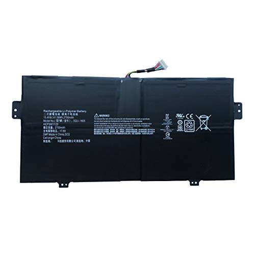BOWEIRUI SQU-1605 (15.4V 41.58Wh 2700mAh) Laptop Battery Replacement for Acer Swift 7 S7-371 SF713-51 SF713-51-M90J Spin 7 SP714-51 SF713-51 Series Notebook 4ICP3/67/129 KT0040B001 SQU1605