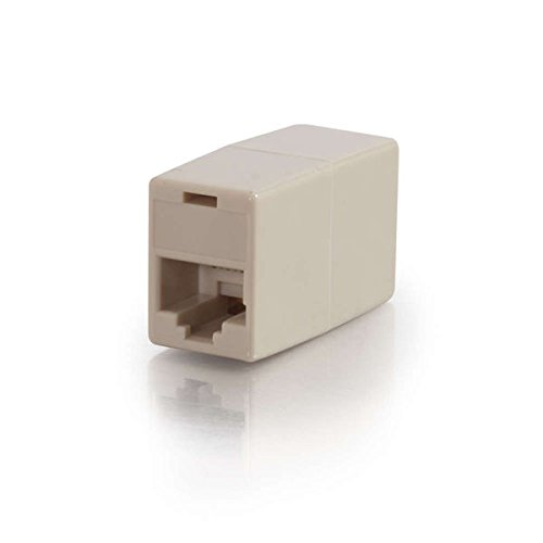 C2G 01927 RJ12 6-Pin Modular Straight-Through Inline Coupler
