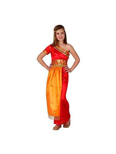 DISBACANAL Disfraz de hindú para niña - 10-12 a�