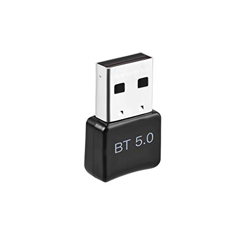 ACTGON Adaptador Bluetooth para PC, USB Bluetooth 5.0 Dongle para Portatil, Auriculares, Altavoz, Teclado USB Bluetooth PC Compatible con Windows 10, 8,7, XP, Vist